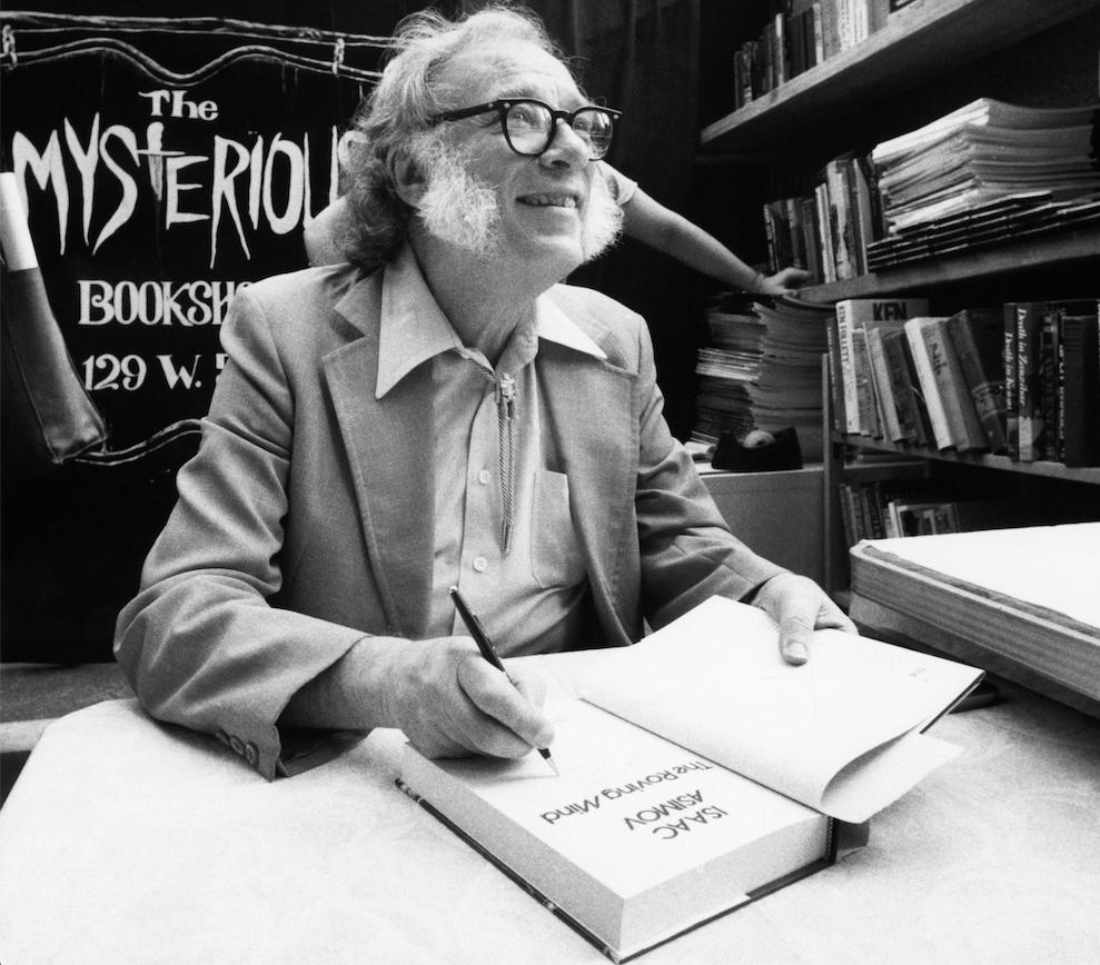 Isaac Asimov ronaldduran cm