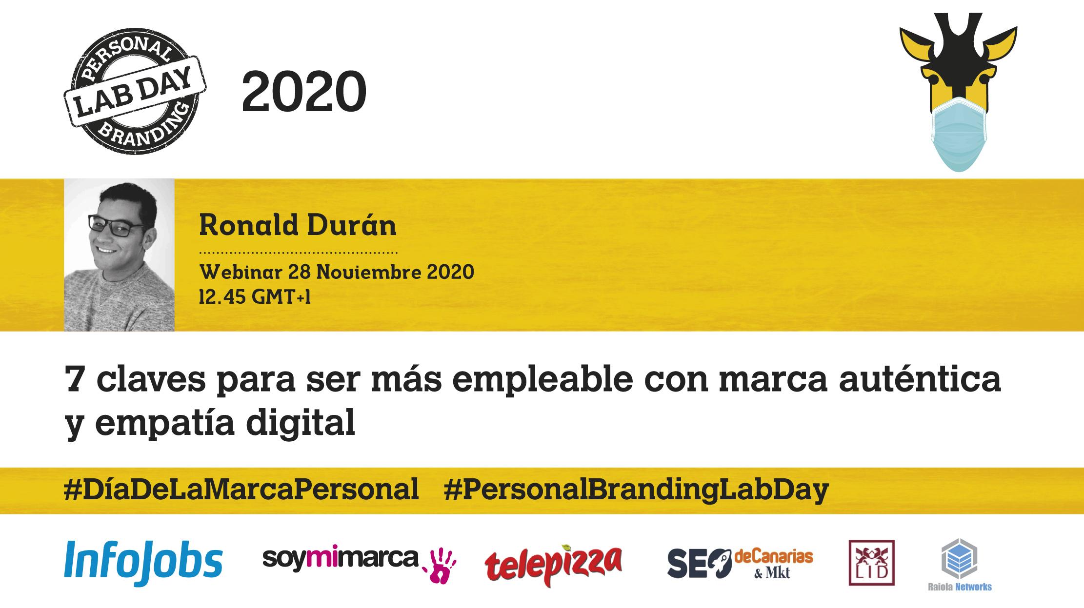 PBLabDay2020 Congrseo de Marca Personal 2020